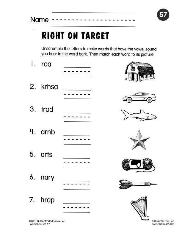 Free phonics worksheets pdf